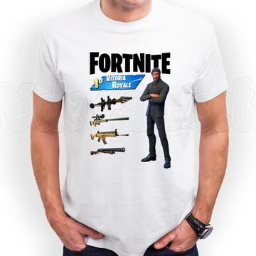 Camiseta Fortnite Ceifador Outfit Blusa Fortnite
