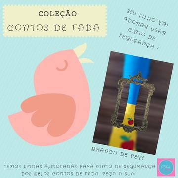 Almofada Pró Pescoço - coleção contos de fada