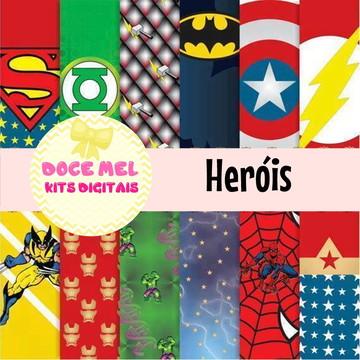 Kit Digital Heróis