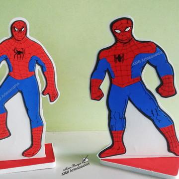 Decoração de mesa Homem Aranha