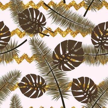 Papel de Parede Autocolante Folhas de bordo Fundo de Outono