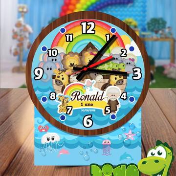 Relógio de mesa personalizado Arca de Noé