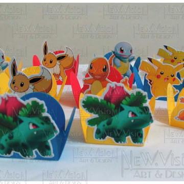 Arte digital aplique personagens Pokemon
