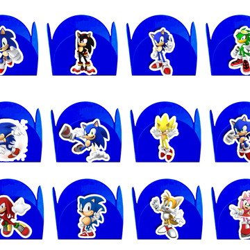 50 Forminhas Video Game Sonic