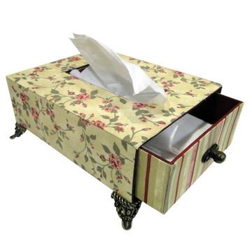 porta lenço de papel (pé)