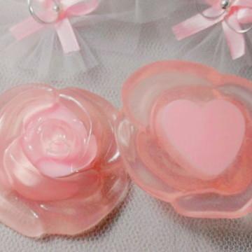 Lembrancinha Casamento , Bodas Sabonete Botão de Rosa