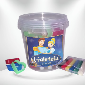 Kit massinha Cinderela