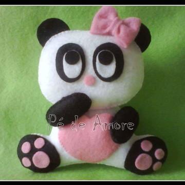 Ursinha Panda em feltro