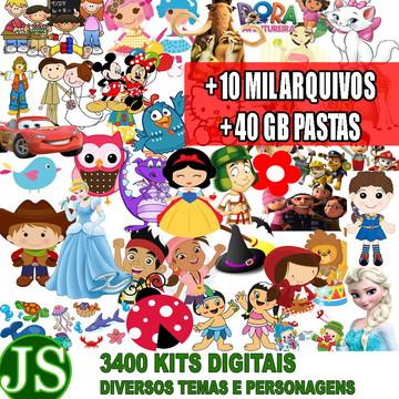 3400 Kits Para Scrapbook Digital