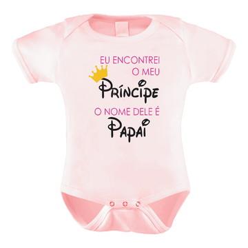 a0414367843 Body Bori Bebê Personalizado Frases Meu Príncipe é o Papai