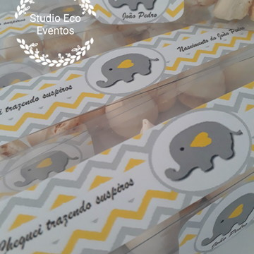Lembrancinhas elefantinhos 17 cm