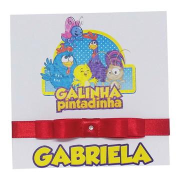 Convite Infantil Galinha Pintadinha - Personalizado