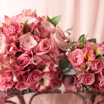 Buquê de noiva em flor natural