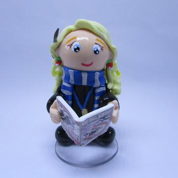 Luna Lovegood (Harry Potter) - Miniatura em Biscuit