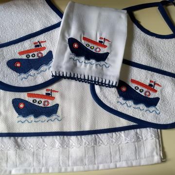 Kit barco - 4 peças