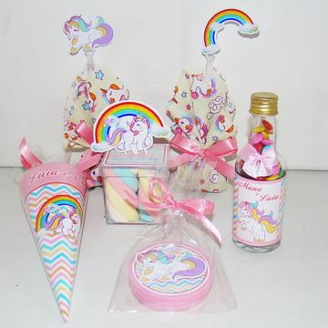 "Kit Festa ""Barbie Paris"" 100 produtos"