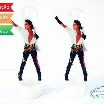 Aplique de tubete Michael Jackson