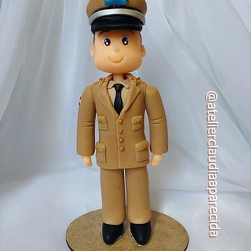 Boneco Profissão - Policial Militar