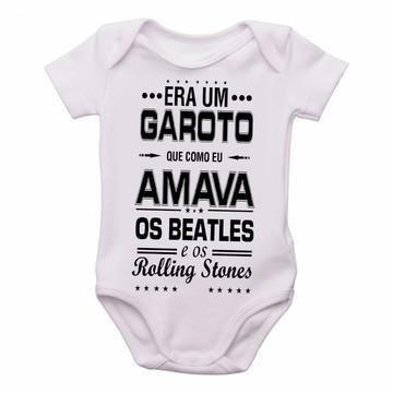 3955255bc6 Body Bebê Roupa Infantil Criança Era um garoto frase musica