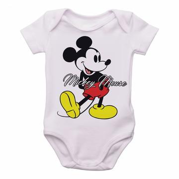 Body Bebê Roupa Infantil Criança Mickey Mouse disney colorid