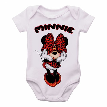 Body Bebê Roupa Infantil Criança Minnie mouse disney tope