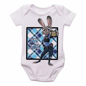 Bodie body Criança Infantil Roupa Bebê coelho zootopia