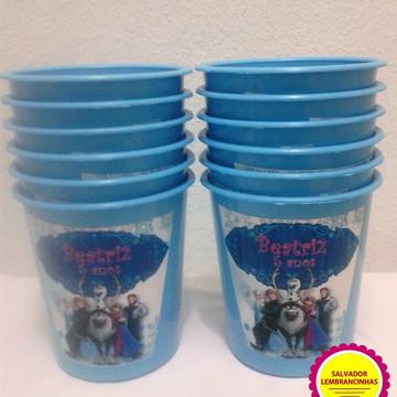 Baldes de Pipocas Frozen- 10 Unidades