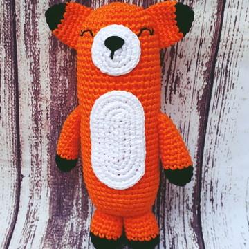 Naninha Fox em crochê - amigurumi