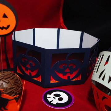 Halloween Dia das Bruxas Enfeite de Mesa Porta Bala
