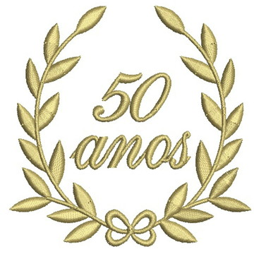 Matriz de bordado - 50 anos 001