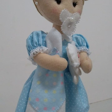 Boneca Bebê em feltro