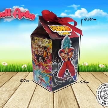 Caixa Milk Dragon Ball Super
