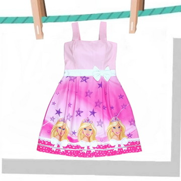 Vestido Barbie Festa Adulto