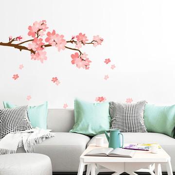 Adesivo Natureza Árvore Sakura