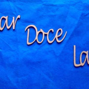 RECORTE'''LAR DOCE LAR'' ''
