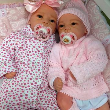 Bebê Reborn gêmeas com Enxoval
