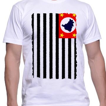 2b728d5f0 Camiseta Eu Amo São Paulo Sp Orgulho Paulista Bandeira 3053