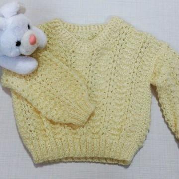 Blusinha Bebê Amarelo