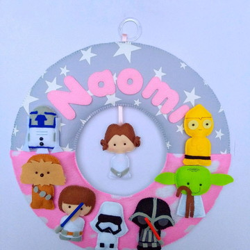 Porta maternidade Star Wars