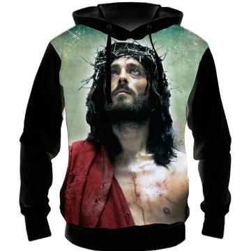 8af3b26179 Blusa Moletom Jesus e a Samaritana