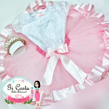 8b86c0c657 Kit de Ballet Bale com Collant Saia Ajustavel Body