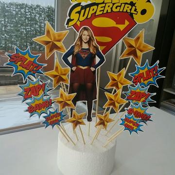 Kit Festa Super Girl