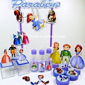 Lembrancinhas Princesa Sofia kit 105 Itens Promoção