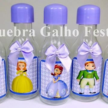 Garrafinha Princesa Sofia Lembrancinhas - Pet 50ML