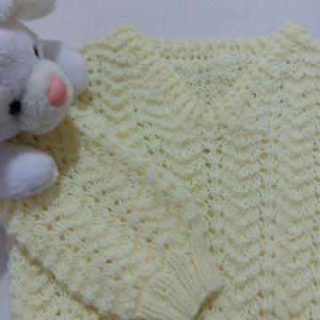 Blusinha Bebê Amarelo Claro