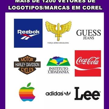 Vetores de Logotipos 1200 Marcas Famosas Em Corel - Logotipo
