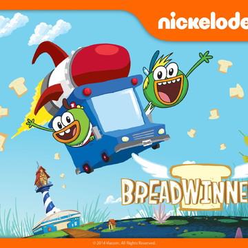 Painel para festa Infantil Breadwinners