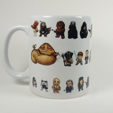 Caneca Personagens Star Wars