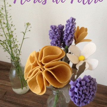 Apostila Flores de Feltro