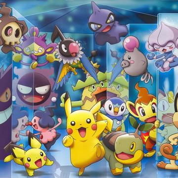 Painel para festa Infantil Pokémon